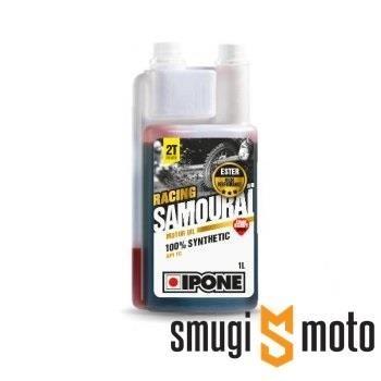 Olej Ipone Samourai 2T, truskawka, 100% syntetyk (różne pojemności)
