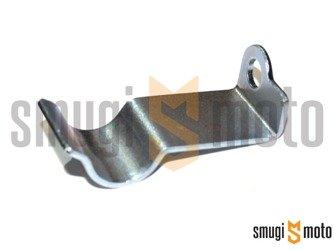 Blaszka trzymająca przewód hamulcowy (na karter), Minarelli leżące, np. Aerox