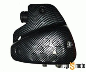 Filtr powietrza kompletny, carbon, Peugeot stojący