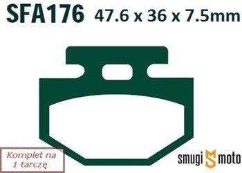 Klocki hamulcowe EBC SFA176 Organic (Honda Lead, hulajnogi elektryczne)