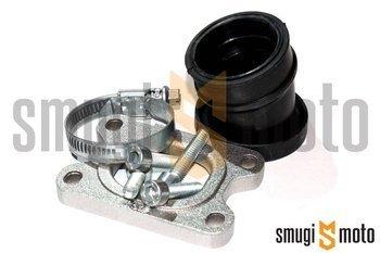 Króciec ssący Polini Evolution 360°, 30mm przelot / 35mm mocowanie, Aprilia / Derbi / Minarelli AM