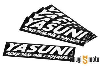 Naklejka Yasuni Adrenaline Exhaust 111x38mm