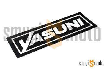 Naklejka końcówki wydechu Yasuni 110x25mm