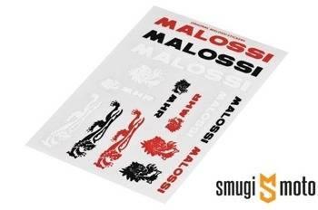Naklejki Malossi Mini V1, zestaw 110x168mm