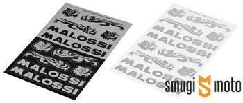 Naklejki Malossi Mini V2 / V3, zestaw 110x168mm (różne kolory)