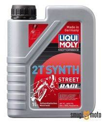 Olej Liqui Moly Synth Race 2T, 1 litr (100% syntetyk)