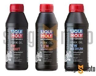 Olej Liqui Moly do amortyzatorów, 500 ml (100% syntetyk) (różne lepkości)