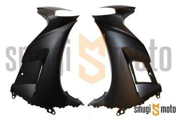 Owiewka przednia, Yamaha TZR 50 '10-11, kolor MSM1 (czarny mat) (lewa / prawa)