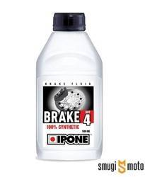 Płyn hamulcowy Ipone DOT 4, zgodny również z DOT 3 (100% syntetyk)