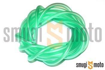 Przewód podciśnienia 4x7mm, 1 metr (zielony)