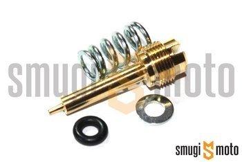 Śruba regulacji powietrza (składu mieszanki), Dellorto PHBG (ze sprężynką, podkładką, o-ringiem)