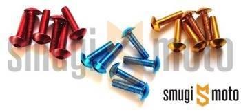 Śruby owiewki Vicma, M5x20, 6 szt. (różne kolory)