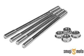 Szpilki cylindra z nakrętkami głowicy Tec, Gilera LC / Piaggio LC / Minarelli stojące