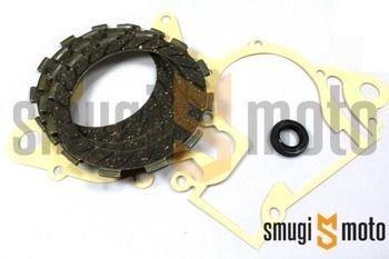 Tarcze sprzęgła z uszczelką i uszczelniaczem TNT, Derbi / Piaggio (D50B0)