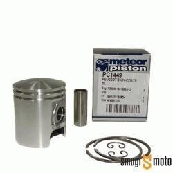 Tłok kompletny Meteor, Peugeot 50cc (różne rozmiary)