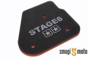 Wkład filtra powietrza Stage6 Double Layer, Minarelli leżące