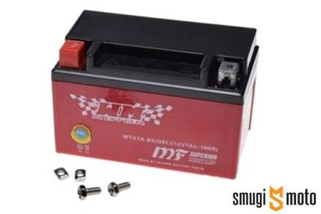 Akumulator żelowy WTX7A-BS (YTX7A-BS) 150x87x94 + 30 zł kaucja