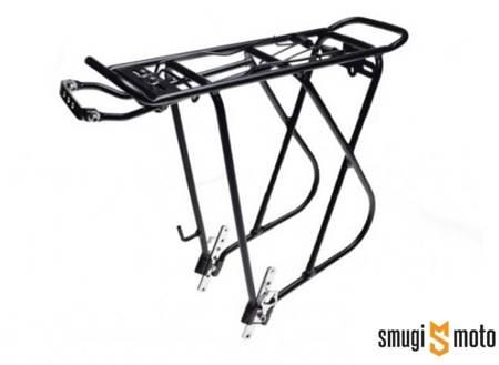 Bagażnik rowerowy WM, tylny, aluminiowy, czarny