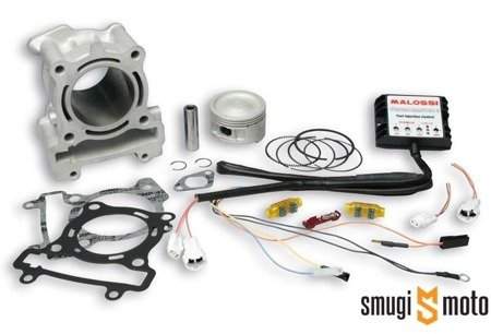 Cylinder Kit Malossi Aluminium 183cc, Yamaha S-Max / Xenter / Majesty S 125 (bez głowicy)