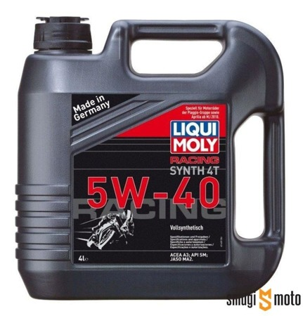 Olej Liqui Moly Synth 5W40 Race 4T 4 litry (100% syntetyk)