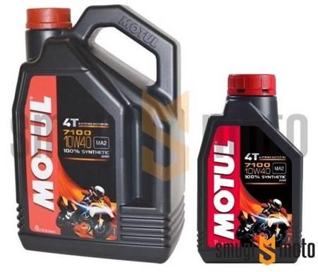 Olej silnikowy Motul 7100 10W40, 100% syntetyk (różne pojemności)