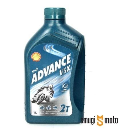 Olej silnikowy Shell Advance VSX 2T 1L