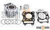 Cylinder Kit Airsal Sport 125cc, Suzuki Burgman 125 '07- (bez głowicy)